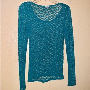 Tops - Large Stretch Lace Top